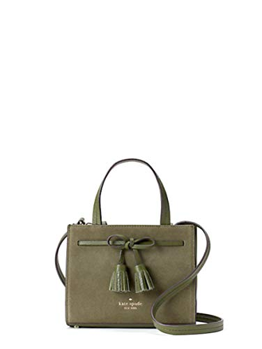 Kate Spade Women's Hayes Suede Small Satchel Women's Leather Handbag...
