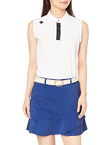 [デサントゴルフ] ゴルフシャツ DGWRJA19 レディース WH00(ホワイト) 日本サイズL相当