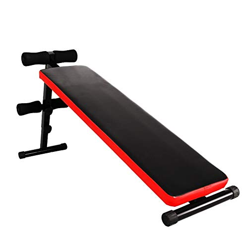 Buy LSX--Dumbbell Bench Sit-up Board Home Adjustable Dumbbell Bench Equipment (Color : Black)