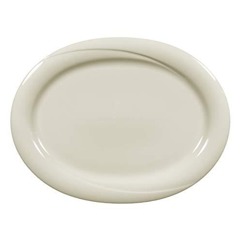 Seltmann Weiden 001.047592 Servierplatte - oval - Porzellan - 35 x 26 cm - Orlando fine Cream