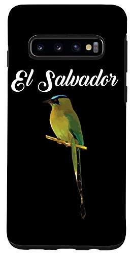 Galaxy S10 El Salvador Torogoz National Bird Salvadorian Pupusas Flag Case