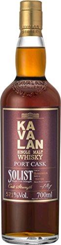 Kavalan Solist Single Malt Whisky Port Cask in Geschenkverpackung (1 x 0.7 l)