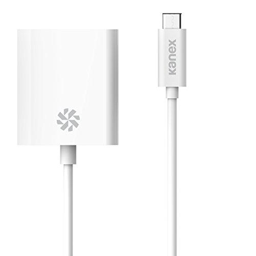 KANEX USB-C - DVI-D 21cm Bianco