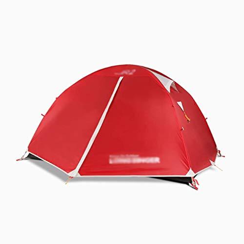 Uitstapje Udstyr- Dual-Use Camping Tent Anti Regenstorm Dubbele Laag Zonwering Tent Zonnescherm Tent Strand, Tuin, Vissen, Picknick Camping Wandelen Outdoor Dome Tent, Kejing Miao 220 * 145 * 115cm B