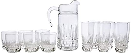 Luminarc Glass Imperator Water Set 13-Piece, Clear DH9704