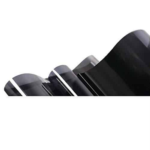 ZXL Raamfolie, isolatiefolie, zonweringsglas, raamsticker, wegwerpperspectief, balkon, slaapkamer, gebouwschaduw, solar eenvoudig te bedienen, 90 x 500 cm (afmeting: 75 x 500 cm)