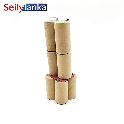 Seilylanka 3000mAh für Lematec 9.6V Ni MH Akku CD SWA96 zur Selbstinstallation Batterie Werkzeugakkus