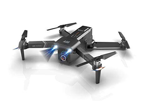 AEE Technology Inc. Sparrow2 Drone with 4K/24fps Ultra HD Video, Waypoint Auto-pilot & Follow-me Functionality, dark gray