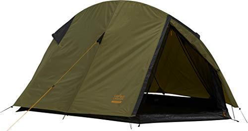 Grand Canyon CARDOVA 1 - tienda de túnel para 1-2 personas - ultraligera, impermeable, tamaño de paquete pequeño - tienda para trekking, camping, outdoor | Capulet Olive (verde)