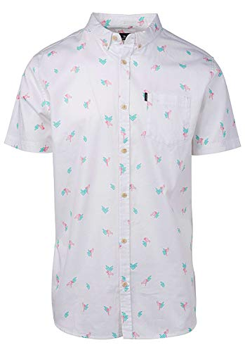 Rip Curl Flamingo Shirt Optical White S