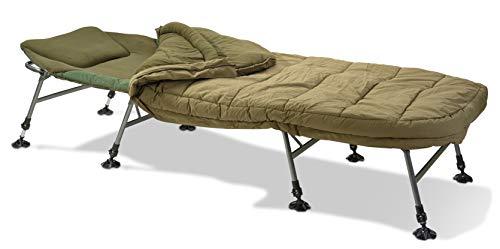 Anaconda 4-Season Bed Chair 8 Beine inkl. Schlafsack