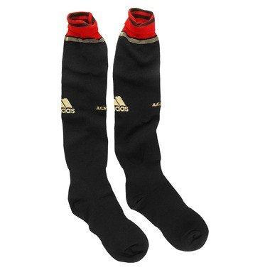 adidas AC Milan–Calcetines Negro/Rojo del surtidor Socks ACM País De Mayo