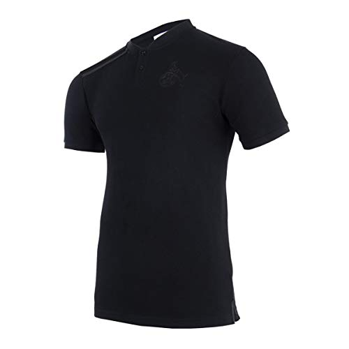 uhlsport 1. FC Köln Blackline Poloshirt schwarz Effzeh Polo Jersey Fan Shirt, Größe:S