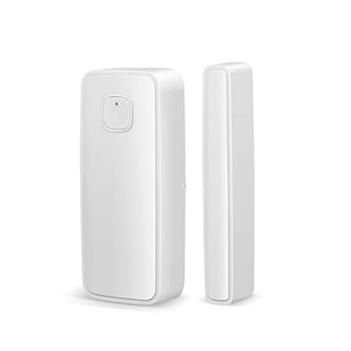 Sensor de Puerta y Ventana WiFi Inteligente, Sensor de Alarma de Ventana, Control Remoto inalámbrico para Seguridad en el hogar, Compatible con Alexa para Tienda de Oficina en casa