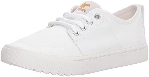 Sorel Damen Canvas Sneaker, Campsneak Lace, Weiß, Größe: 39