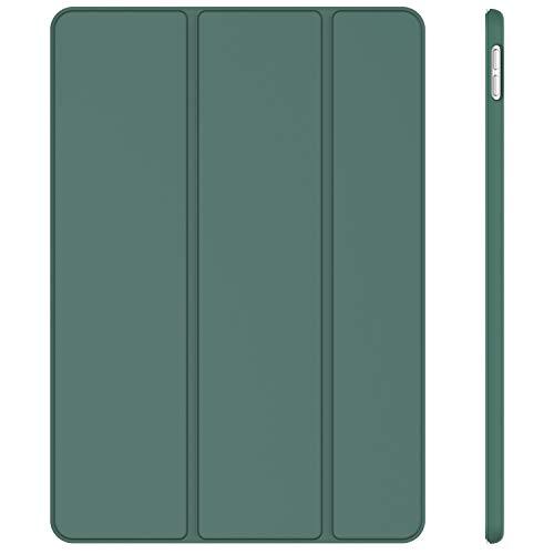 JETech Hülle Kompatibel iPad Air 10,5 (3. Generation 2019) & iPad Pro 10,5 2017, Schutzhülle mit Ständer Funktion & Auto Schlafen/Wachen, Misty Blau