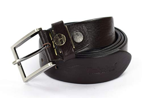 Timberland Cintura Pelle M4181 Cioccolato 110 cm (M)