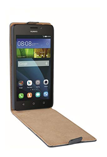 PATONA Slim Flip-Cover Klapp-Tasche Schutz-Hülle Cover Hülle für Huawei Y635