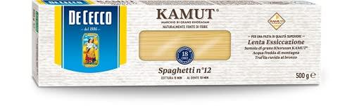 De Cecco Spaghetti Pasta Kamut Cee - 4 pezzi da 500 g