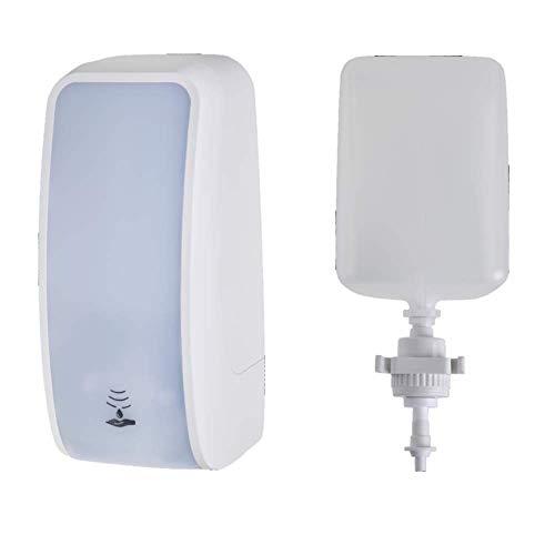 Blanc HYGIENIC • Set: Schaumseifenspender Sensor Blanc Cosmos & milde Schaumseife • Weiß • 3 x 1 Liter Seife