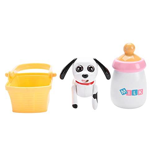 Speelgoed met interactieve inductie, speelgoed voor zuigelingenmelk voor babys, interactief educatief voedingsspeelgoed voor inductie voor kinderen(Dalmatian)