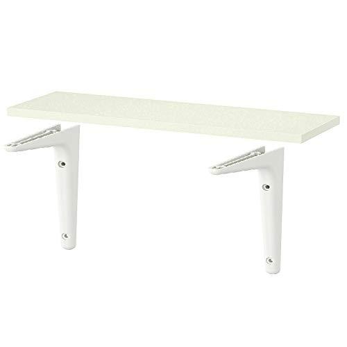 Burhult und Sibbhult Bremse, robustes Regal, 59 x 20 cm, getestet für 10 kg *Marke IKEA* (Regal und Halterungs-Set)