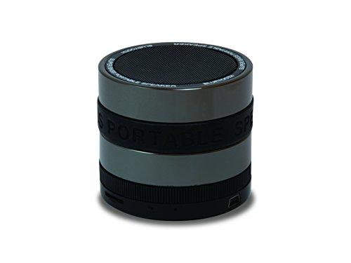 Conceptronic CSPKBTSBB 3 W Negro, Gris - Altavoces portátiles (3 W, 85...