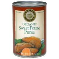 Farmer's Market Sweet Potato Puree, Organic, 15 oz, (pack of 3)