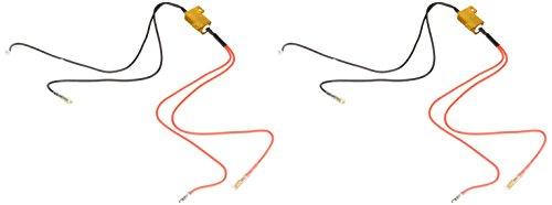 Puig 4298O Juego Resistencias para Intermitente de LED, 3.9 Ohm, 25 W