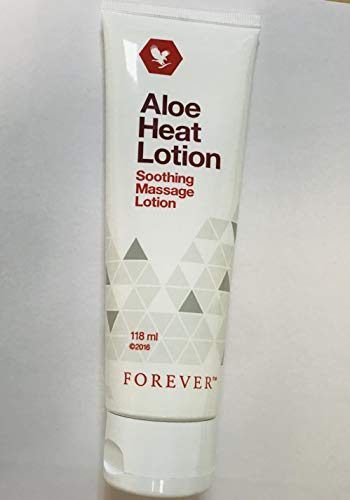 Forever Living Aloe Heat Lotion soothing massage lotion 118ml Brand New...