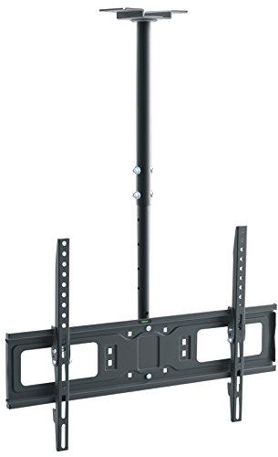 RED OPTICUM supporto TV da soffitto AX Cinema 32 - supporto TV LCD da 65 pollici girevole girevole Vesa 600 x 400, nero rosso