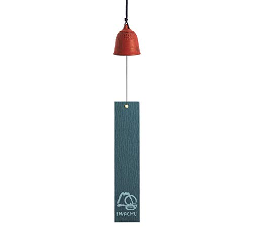 Iwachu MM27025WR Cloche de Feng Shui Grand Rouge 40 cm