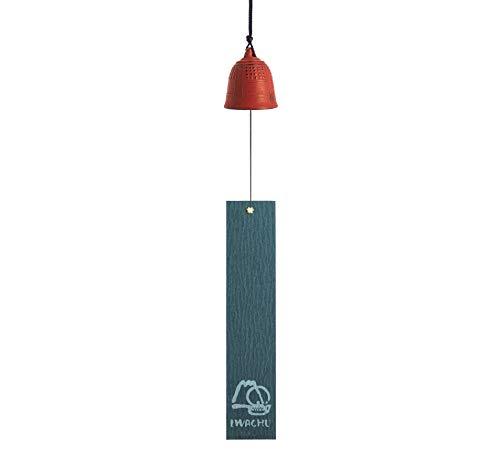 Iwachu MM27025WR - Campana da Feng Shui Grande, 40 cm, Colore: Rosso