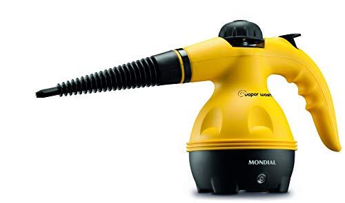 Higienizador a Vapor Mondial, Wash, 127V, 1000W, Amarelo - HG-01