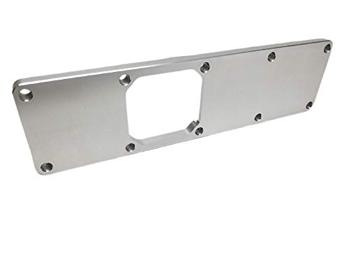 Z Whip 3.9L Intake Manifold Plenum Plate Compatible With Cummins 3.9L 4BT 4 Cylinder Industrial Turbo Diesel Engines Billet Aluminum Top Hat Pan ISB Proudly Made In The USA