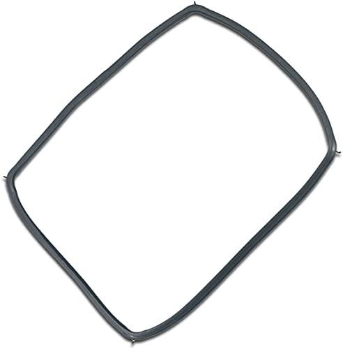 MIRTUX Junta puerta de horno con 4 ganchos para fácil instalación. Compatible con varios modelos de hornos Siemens, Bosch, Neff, Lynx, Balay.Código del recambio 754066