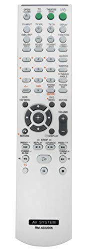New RM-ADU005 Replace AV System Remote fit for Sony DAV-DZ630 HCD-DZ630 DAV-HDX265 HCD-HDX265 HCD-DZ231 DAV-HDZ235 HCD-HDZ235 DAV-DZ30 DAV-DZ530 DVD Home Theatre System