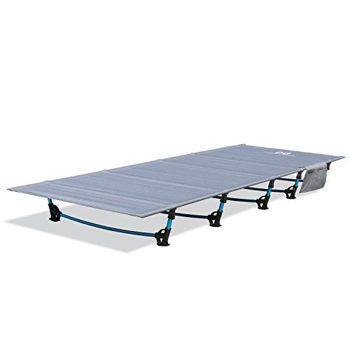 Moon Lence アウトドアベッド 折りたたみ キャンプコット 簡易 コンパクト 超軽量 耐荷重160kg 枕*収納ケー...