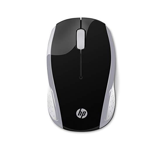 HP Wireless Mouse 200 (Black/Silver, 2HU84AA)