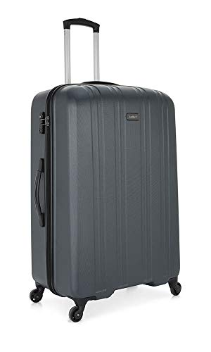 Antler Titanium Excl Large Charcoal Suitcase, 81 cm, 109 , Grey