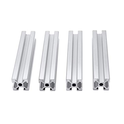 YAYANG Angle bracket 4pcs/lot 2020 Aluminum Profile Extrusion 100mm to 800mm Length Linear Rail 200mm 400mm 500mm for DIY 3D Printer Workbench CNC Durable in use. (Color : 750mm)