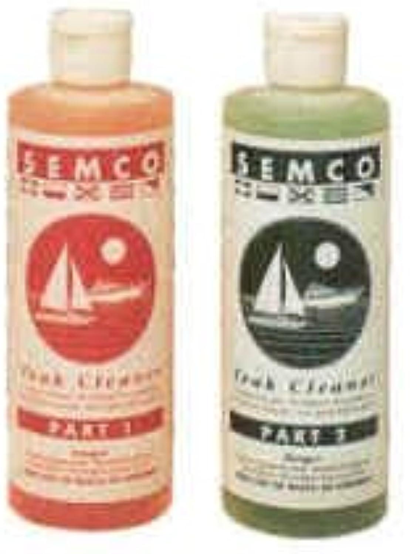 Semco Two Part Teak Cleaner Quarts Set
