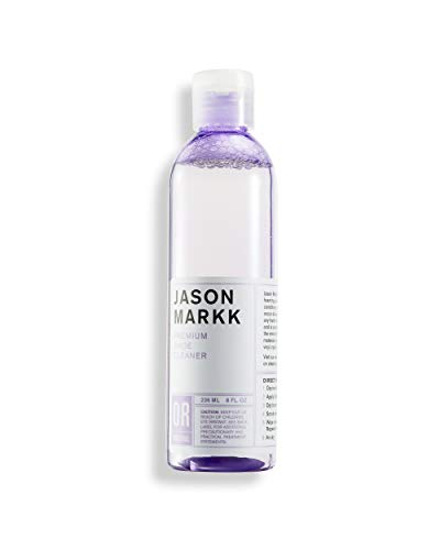 Jason Markk 8 oz. Premium Shoe Cleaner - Foaming Solution - Gently Cleans & Conditions Sneakers - Biodegradable - Safe on all Materials Including Leather, Suede, Nylon, and Nubuck - No Harsh Chemicals
