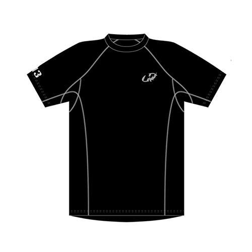 Hammerhead Hh3 Perform , Camisa Para Corrida, Homens, Preto/Cinza Claro, P
