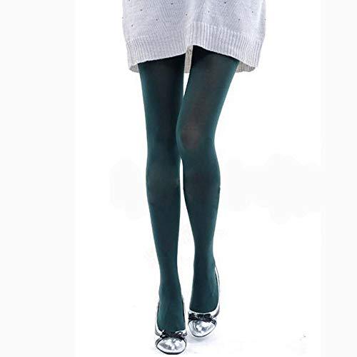 Leggings Damen Hose Strümpfe Frauen Strumpf Polieren Opaque Candy Color Leggings ArmyGreen