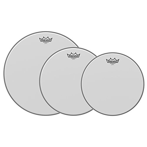 Remo PP-0930-BA Ambassador Schlagzeug-Set, beschichtet, 30,5 cm, 33 cm und 40,6 cm