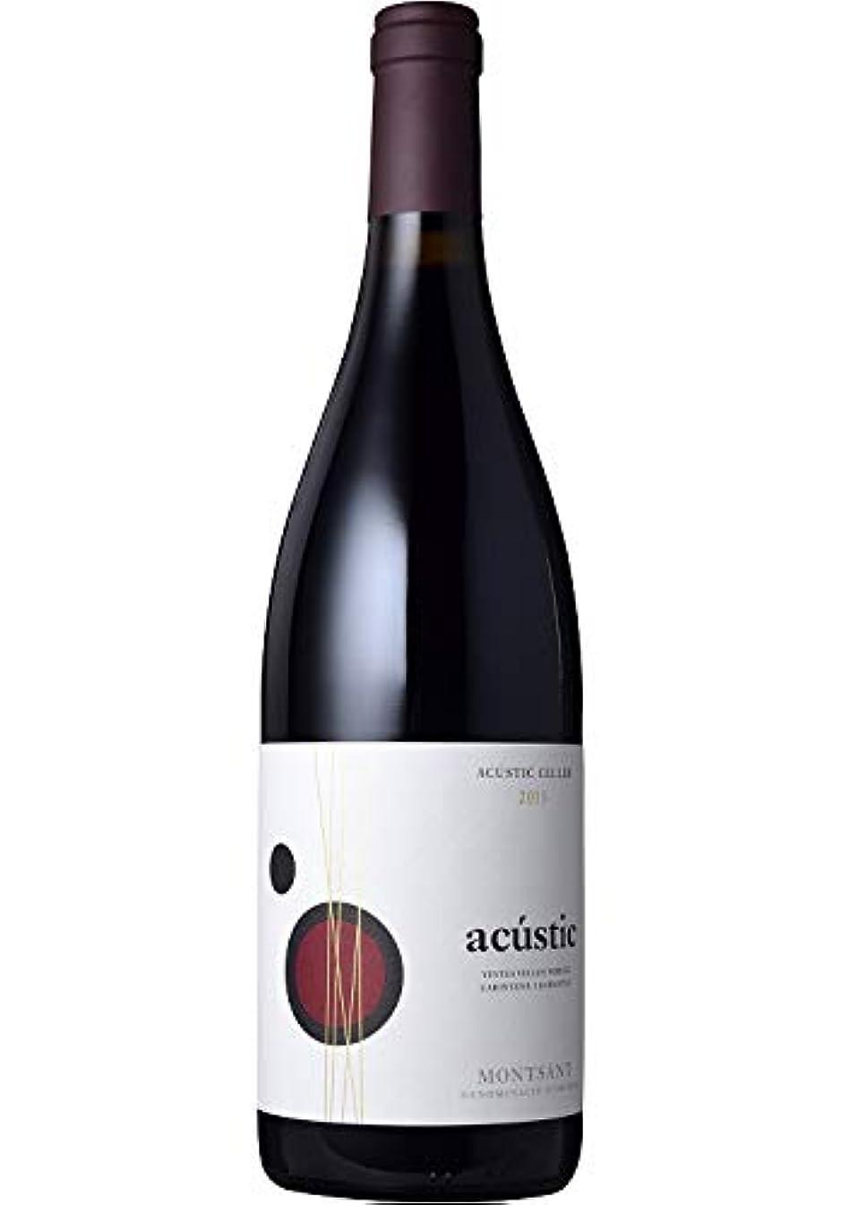裏切りベアリングドラッグアクスティック ティント [2015] アクスティック?セリェール Acustic Tinto [2015] Acustic Celler スペイン 赤 カタルーニャ モンサンDO 750ml