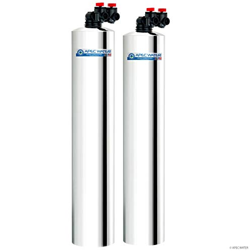 APEC Water Systems WH-SOLUTION-15 Whole House Filter & Salt Free Water Softener Systems