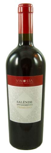 Salende Primitivo Appassimento IGT 2018 Vinosia, sensationeller Rotwein aus Apulien