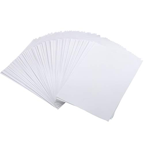 100Sheets Newbested White Watercolor Paper Cold Press Cut Bulk Pack for Beginning Artists or Students. (10 x 7 Inch) (12 x 8 INCH)